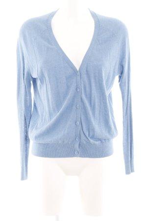 H&M Strickjacke blau Casual-Look