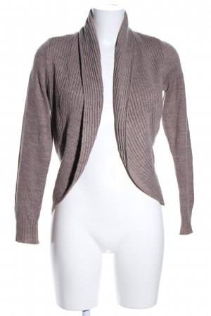H&M Cardigan brown flecked casual look