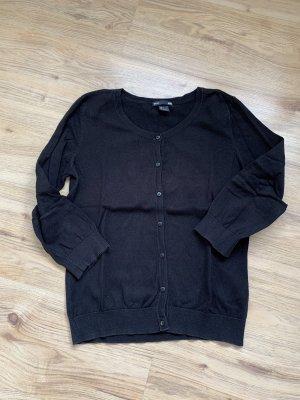H&M Strickjacke / Cardigan in schwarz - S
