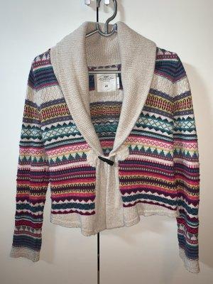 H&M Strickjacke Cardigan Norweger  Angora - Wolle