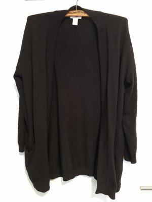 H&M Strickjacke cardigan schwarz S