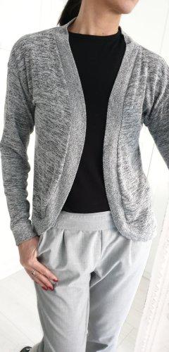 H&M Strickjacke grau