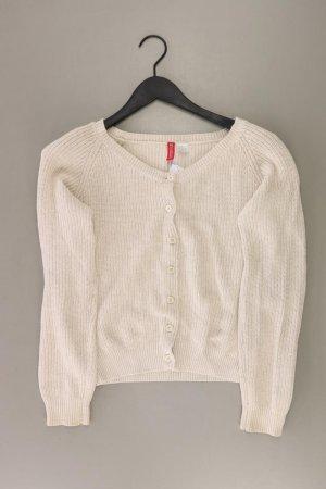 H&M Strickjacke Größe 38 Langarm creme aus Baumwolle