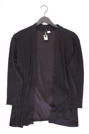 H&M Strickjacke Größe L mit Gürtel Langarm schwarz