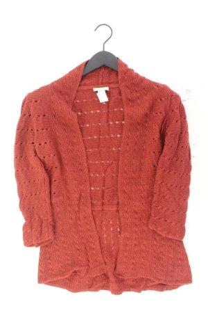 H&M Strickjacke Größe M 3/4 Ärmel rot aus Polyamid