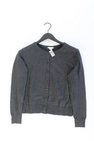 H&M Strickjacke Größe M Langarm grau aus Viskose