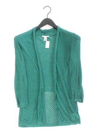 H&M Strickjacke Größe M Langarm grün aus Viskose