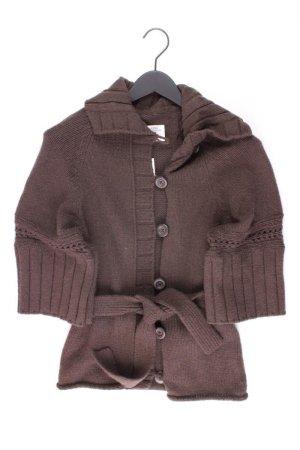 H&M Strickjacke Größe S 3/4 Ärmel braun aus Wolle