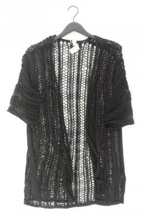 H&M Strickjacke Größe S 3/4 Ärmel schwarz aus Polyacryl