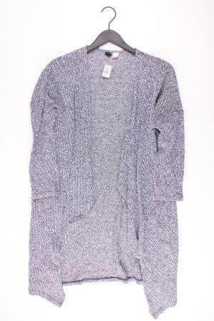 H&M Strickjacke Größe S Langarm blau aus Baumwolle