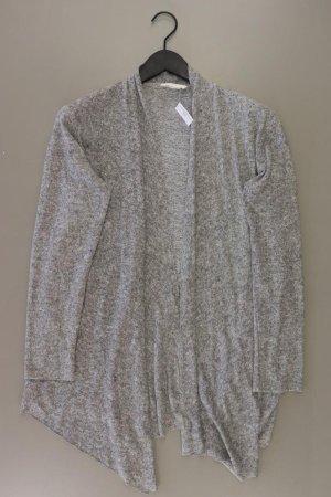 H&M Strickjacke Größe S Langarm grau aus Polyacryl