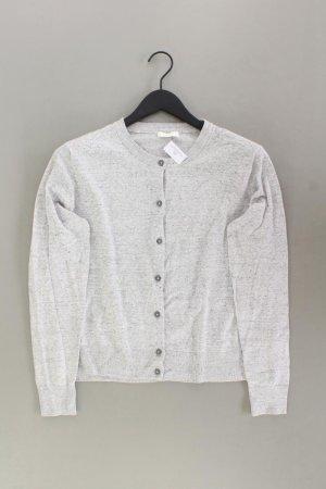 H&M Strickjacke Größe XL Langarm grau aus Viskose