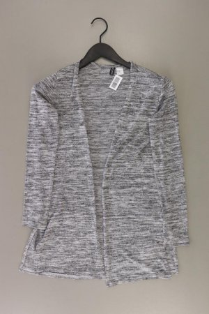 H&M Strickjacke Größe XS Langarm grau aus Polyacryl
