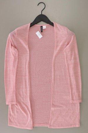 H&M Strickjacke Größe XS Langarm rosa aus Polyester