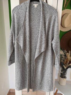H&M Płaszcz z dzianiny Wielokolorowy