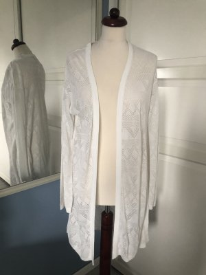 H&M Cardigan all'uncinetto bianco