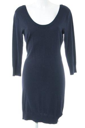 H&M Strickkleid blau Casual-Look