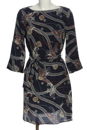 H&M Strickkleid abstraktes Muster Casual-Look