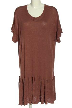 H&M Strickkleid braun Casual-Look