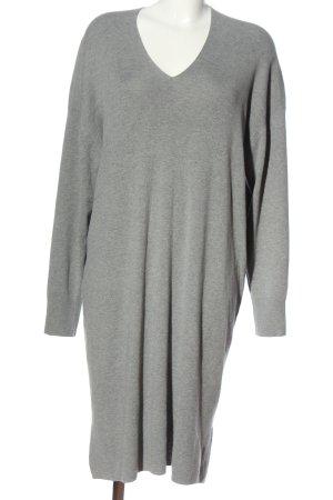 H&M Strickkleid hellgrau Casual-Look