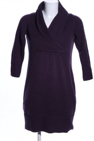 H&M Knitted Dress lilac casual look