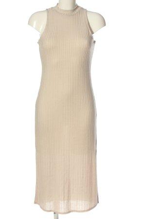 H&M Strickkleid creme Casual-Look