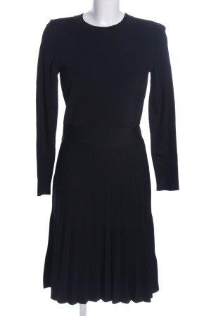 H&M Abito di maglia nero stile professionale