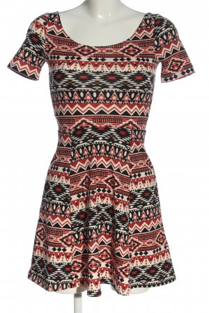 H&M Strickkleid Mustermix Casual-Look
