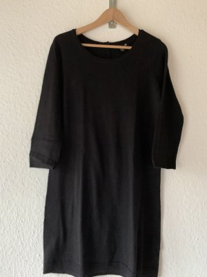 H&M Robe en maille tricotées noir