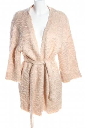 H&M Knitted Coat cream casual look