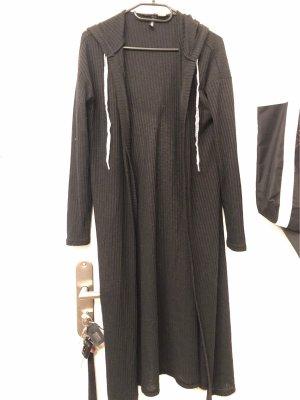 H&M Manteau en tricot gris anthracite