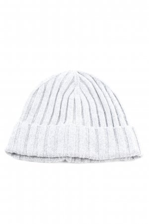H&M Knitted Hat light grey flecked casual look