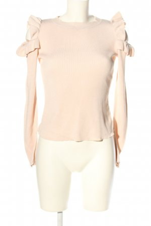 H&M Strickpullover creme Business-Look