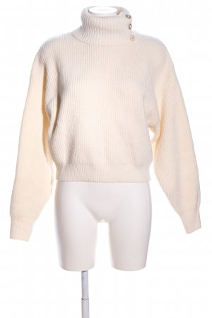 H&M Strickpullover creme Casual-Look