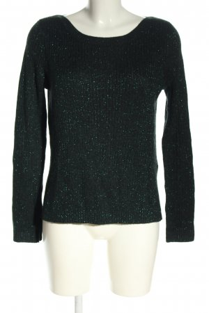 H&M Strickpullover grün Zopfmuster Casual-Look