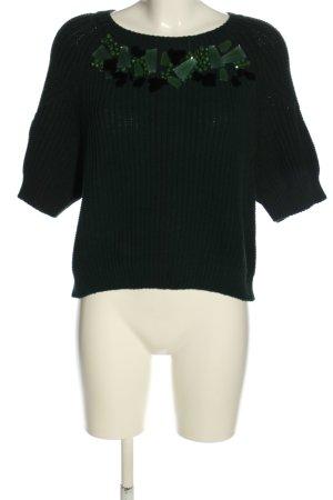 H&M Strickpullover grün Casual-Look