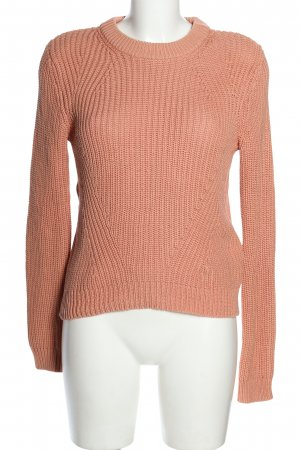 H&M Strickpullover nude Casual-Look
