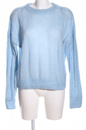 H&M Strickpullover blau Casual-Look