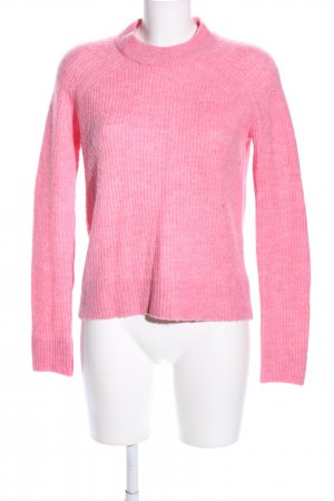 H&M Strickpullover pink Casual-Look