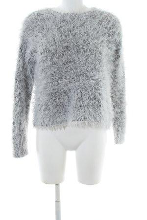 H&M Strickpullover hellgrau Business-Look
