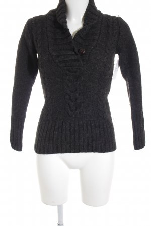 H&M Strickpullover anthrazit Casual-Look