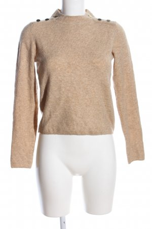 H&M Strickpullover nude meliert Business-Look