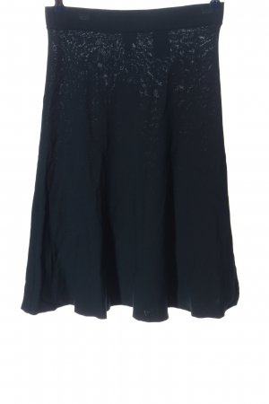 H&M Knitted Skirt blue casual look