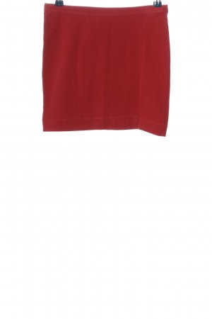 H&M Knitted Skirt red casual look