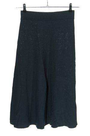 H&M Gebreide rok zwart casual uitstraling