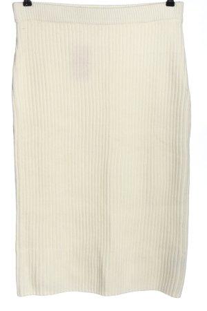 H&M Gebreide rok wit casual uitstraling