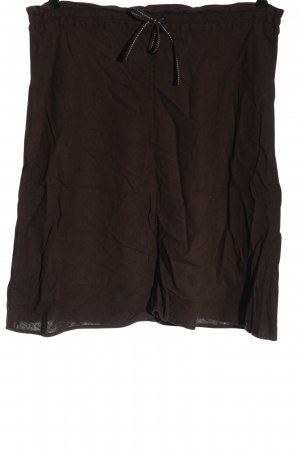 H&M Gebreide rok bruin casual uitstraling