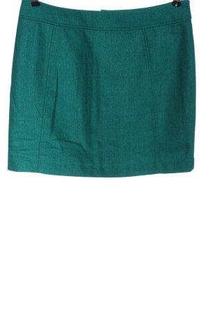 H&M Gebreide rok turkoois volledige print casual uitstraling