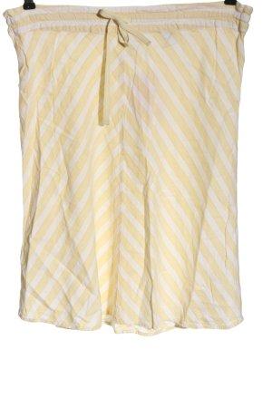 H&M Gebreide rok sleutelbloem-wolwit volledige print casual uitstraling