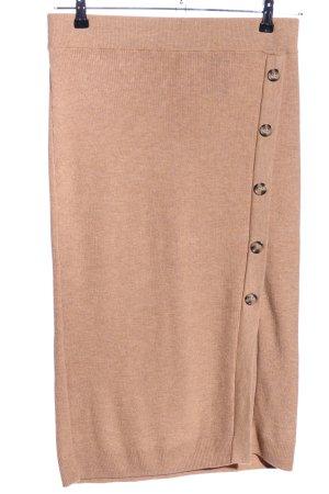 H&M Jupe tricotée rose moucheté style décontracté